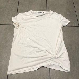 Athleta T-shirt Short Sleeve Top White Size Small